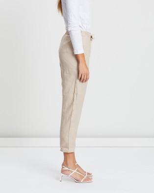 White By FTL Abigail Pants - Pants (Oatmeal)