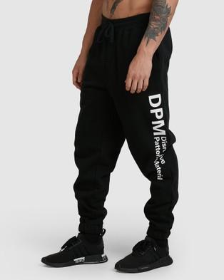 RVCA DPM Fleece Pant - Pants (RVCA BLACK)