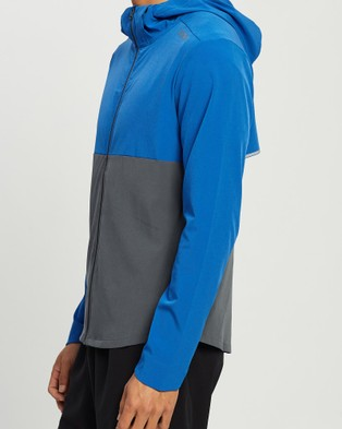 2XU XVENT Jacket - Coats & Jackets (Chilled Cobalt/Turbulence)