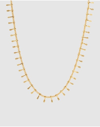 Dear Addison Reef Necklace Gold Plated