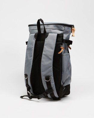 Australia Harvest Label Colourful Box Backpack - Outdoors (Grey)