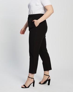 Atmos&Here Curvy Bella Pants - Pants (Black)