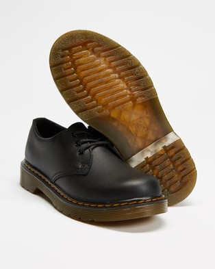 Dr Martens Junior 1461 Softy T   Kids Teens - Casual Shoes (Black)