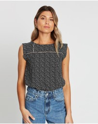 Atmos&Here - Carly Crochet Insert Top
