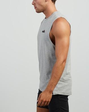 Ellesse - Pyrenees Singlet T-Shirts & Singlets (Grey Marle)
