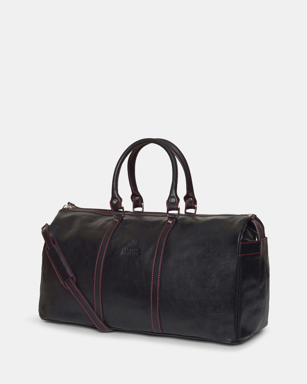 Republic of Florence Conti Black Duffle Bag Bags Black