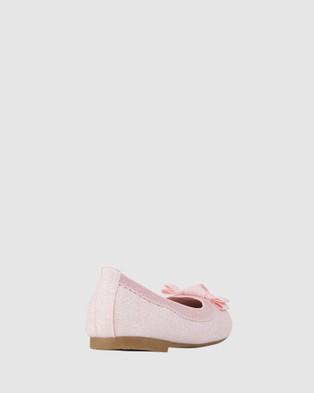 Kicks Keely Shimmer Ballet Flats - Flats (Light Pink)