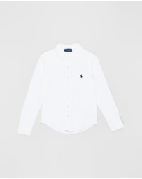 Polo Ralph Lauren - Cotton Interlock Shirt - Teens