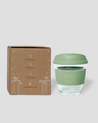 Think Cups Think Cup California Dreaming 8oz - Travel and Luggage (Green)