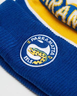 New Era Medium Knit Parramatta Eels Beanie Headwear Blue