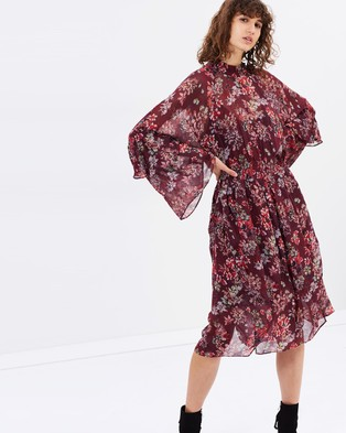 IRO – Aamito Dress Burgundy