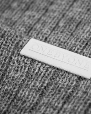 ONEBYONE Bobby Beanie - Headwear (Marble Grey)