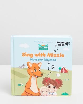 Mizzie The Kangaroo - Musical Gift Set - All toys (Baby Toddler Gift Set) Musical Gift Set