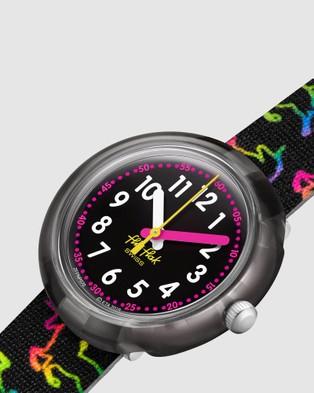 Flik Flak DISCO UNICORN - Watches (Black)