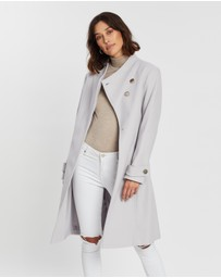 Dorothy Perkins - Button Wrap Coat