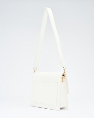 Calli - Tallow Concertina Bag - Handbags (White) Tallow Concertina Bag