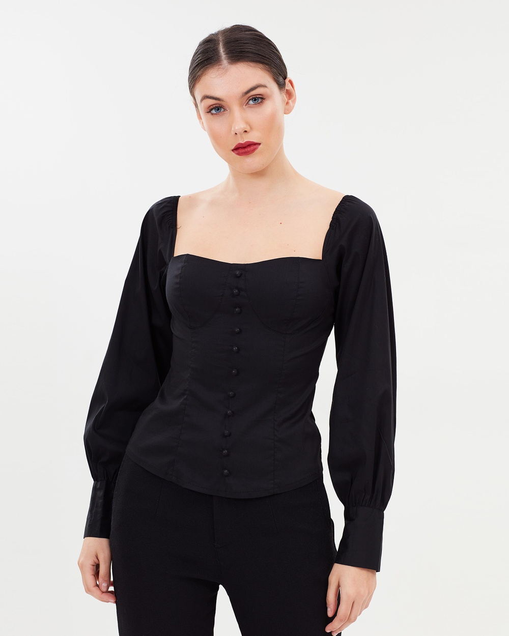 Lioness Hello Lover Top Tops Black Hello Lover Top