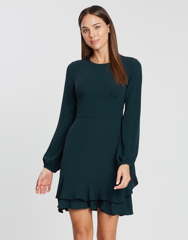 Cooper St - Double Take Long Sleeve Mini Dress