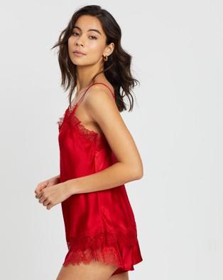 Sainted Sisters Scarlett Camisole - Sleepwear (Scarlet Red)