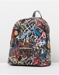 LOVE MOSCHINO - Graffiti Backpack