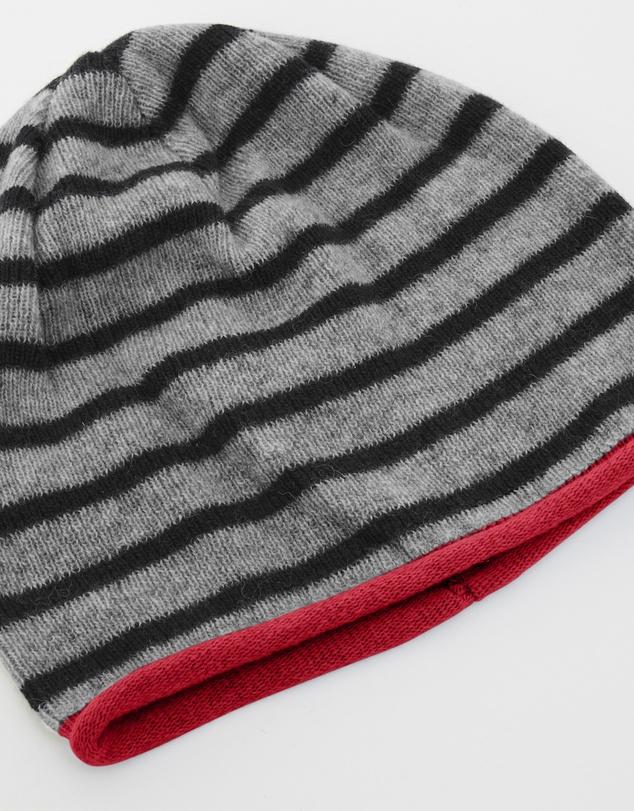 Women Rugby Stripe Beanie
