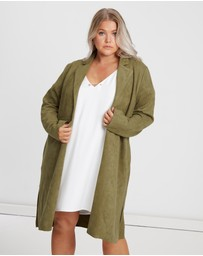 CHANCERY Curve - Niamh Suede Coat