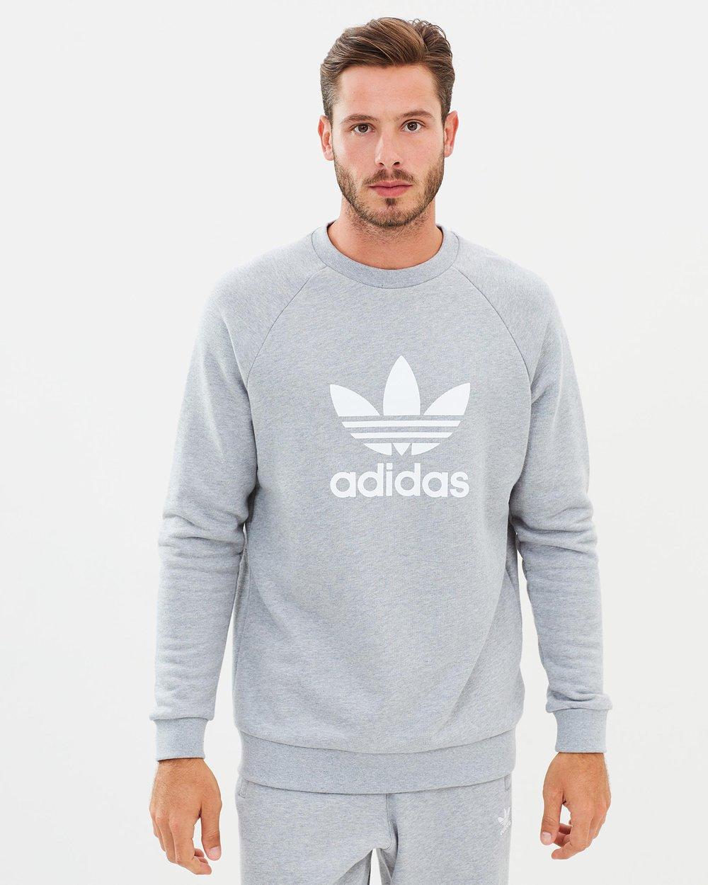 55e271160e Adicolor Trefoil Crew Sweatshirt by adidas Originals Online