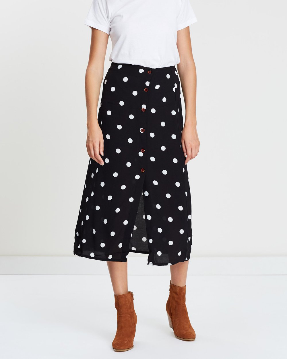 e51a338be8 Retro Love Midi Skirt by Free People Online | THE ICONIC | Australia