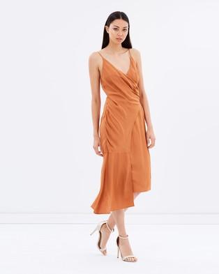 Keepsake the Label – Capture Dress – Dresses (Terracotta)
