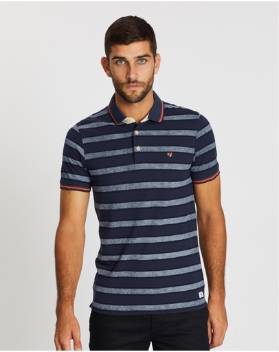 Jack & Jones - Paulos Play Stripe SS Polo