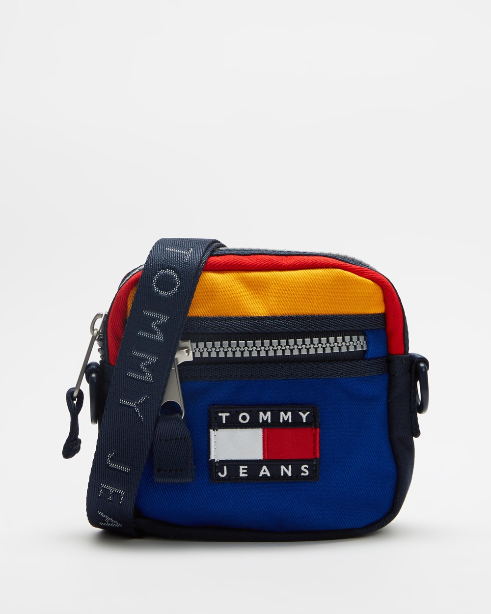 Tommy Jeans Heritage Reporter Bag Bags Midnight & Colour Block