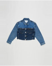 Calvin Klein Jeans - Trucker Denim Jacket - Teens