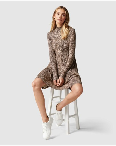 Forever New - Sophie Long Sleeve Smock Dress