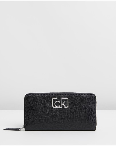 Calvin Klein - CK Signature Large Zip-Around Wallet