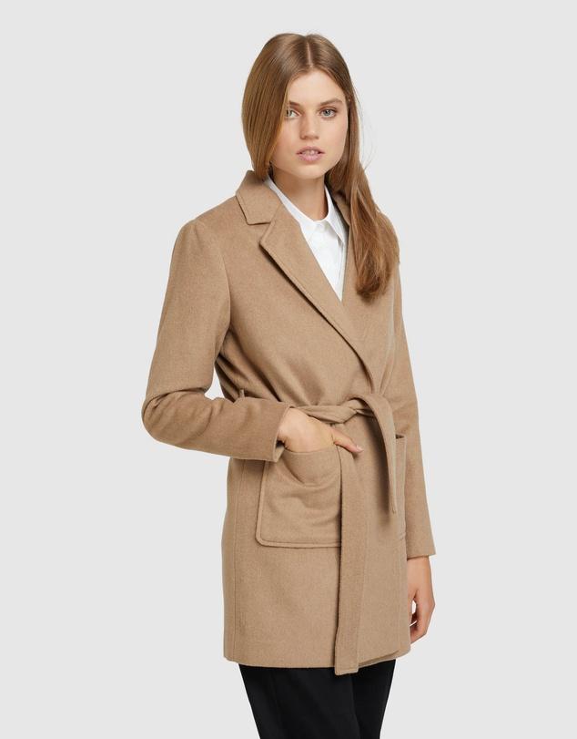 Women Dalia Wool Blend Jacket