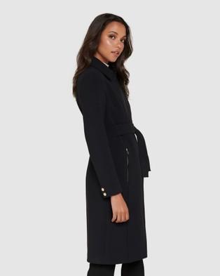 Forever New Cassandra Mac - Coats & Jackets (Black)