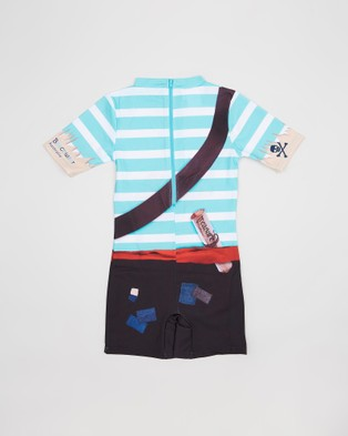 Bluesalt Beachwear - Pirate Rash Suit Suits (Pirate)