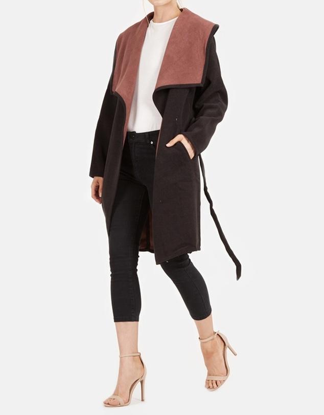 Women Rita Wrap Coat