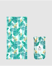 Dock & Bay - Extra Large Beach Towel 100% Recycled Botanical Collection