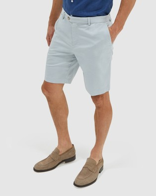 SABA Mateo Cotton Item Shorts - Chino Shorts (stone)