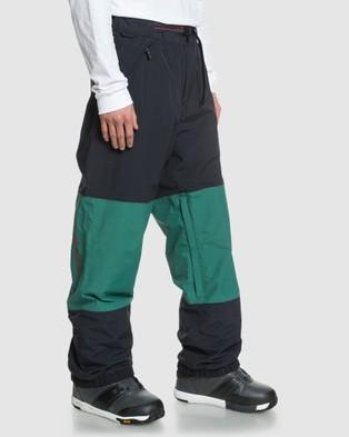 Quiksilver Mens Beater Snow Pant - Pants (ANTIQUE GREEN)