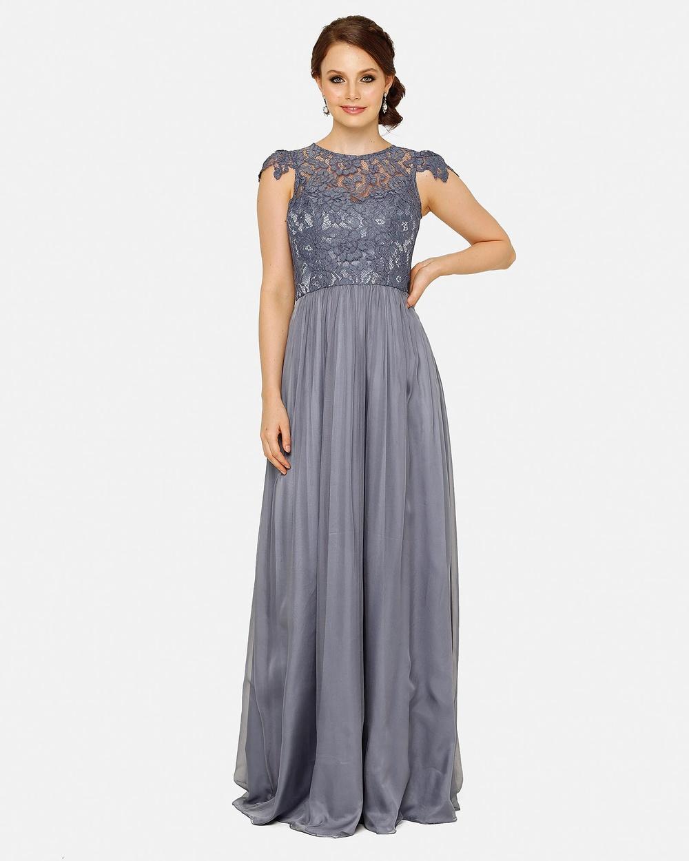 Tania Olsen Designs Latitia Dress Bridesmaid Dresses Dusty blue Latitia Dress