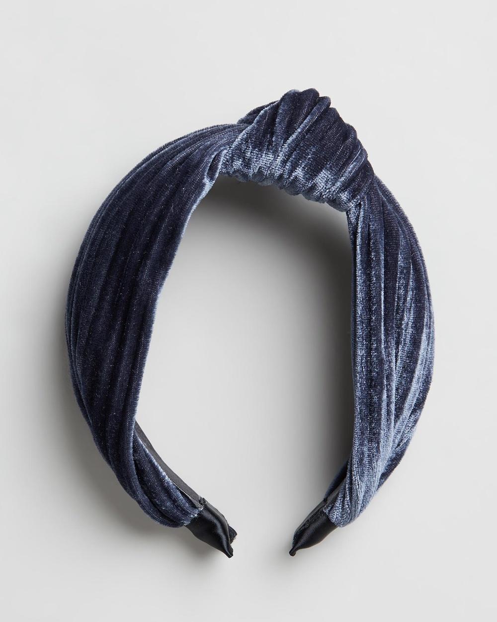 Morgan & Taylor Armelle Headband Fascinators Grey