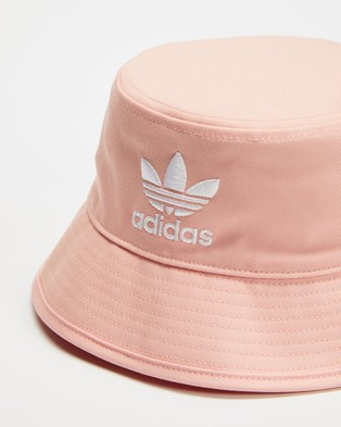 adidas Originals Adicolour Bucket Hat - Hats (Vapour Pink & White)
