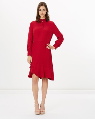 SABA – Carrie Dress red