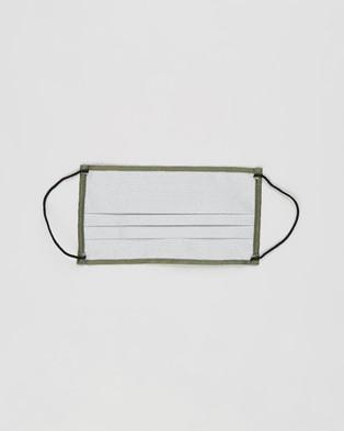 M.N.G Face Mask   2 Pack - Face Masks (Beige & Khaki)