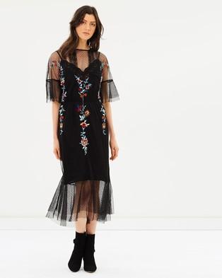 M.N.G – Alma Dress Black