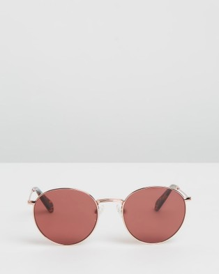 Pacifico Optical Dover - Sunglasses (Rose Gold with Rose Lens)