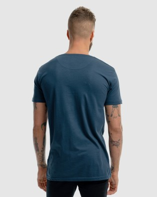 First Division Contract Embroidery Tee - T-Shirts & Singlets (NAVY)