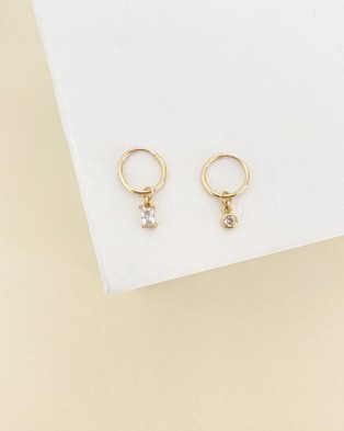ALIX YANG - Mia Hoops Jewellery (Gold)